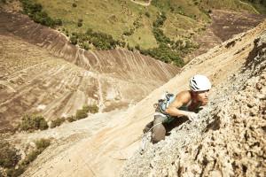 Kiwi climber Mayan Smith-Gobat, photo by Frank Kretschmann